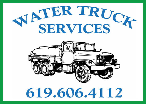 Alpine, Jamul, Campo, Descanso, Water Delivery Service